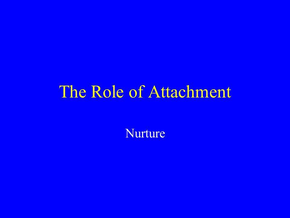 The Role of Attachment Nurture