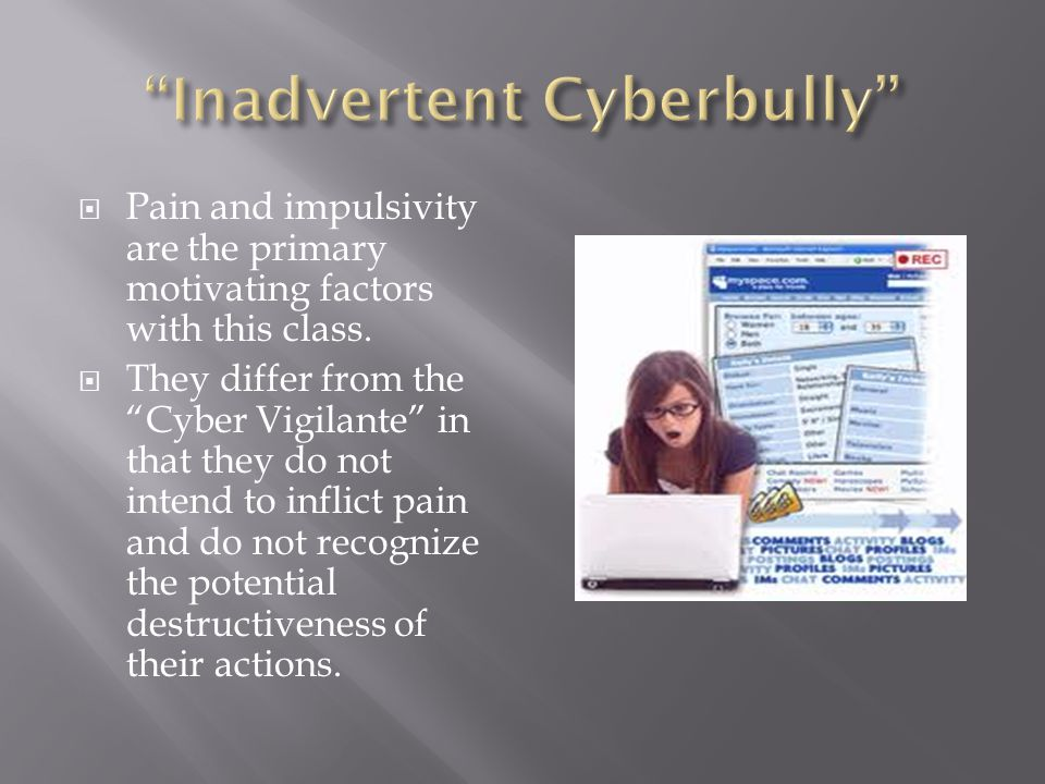  Pain and impulsivity are the primary motivating factors with this class.