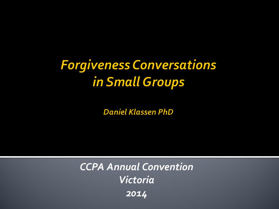 CCPA Annual Convention Victoria 2014