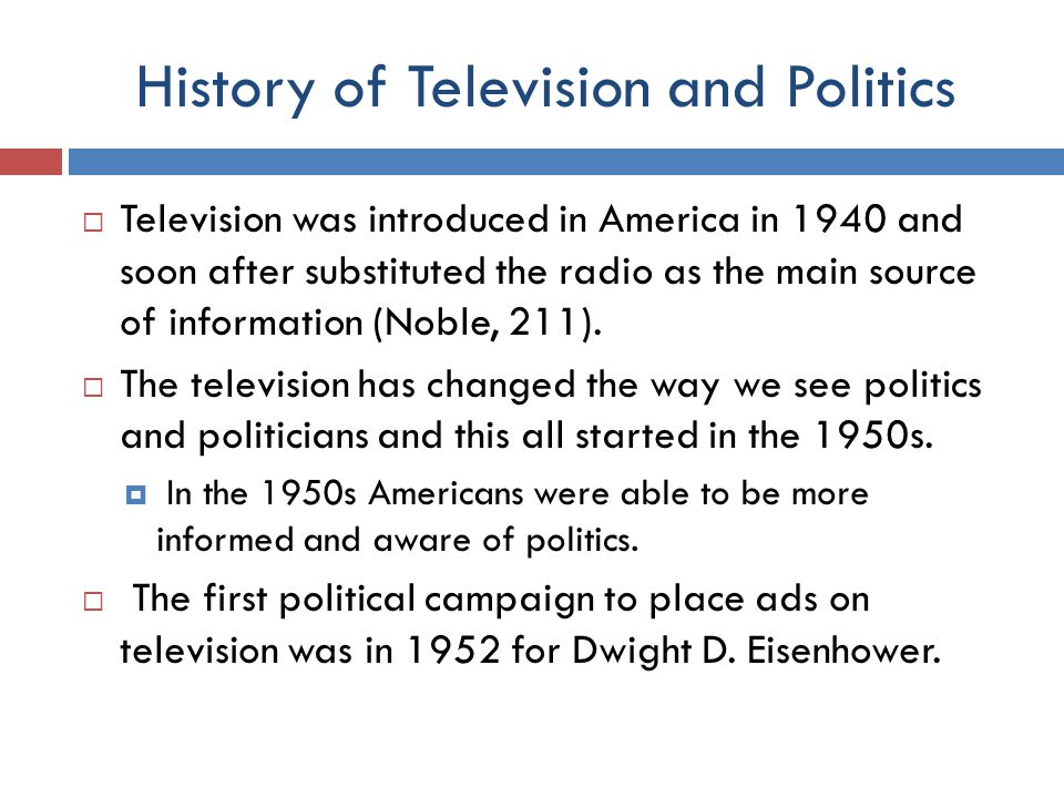 Television in America  The television is an important technology in the life of most Americans.