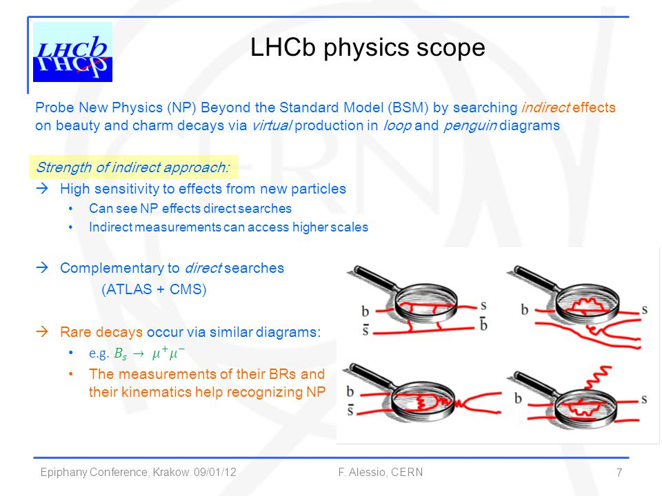 Epiphany Conference, Krakow.09/01/12 F. Alessio, CERN 18 Direct CP Violation See more in A.