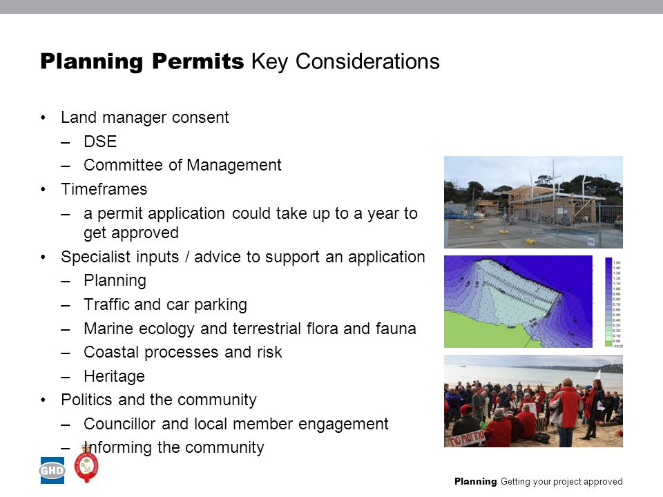 Planning Getting your project approved StKilda Harbour Planning Permit