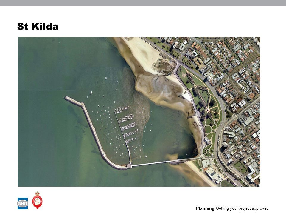 Planning Getting your project approved Existing marina