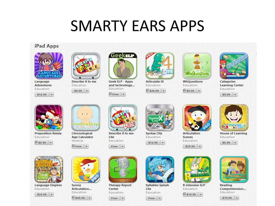 SMARTY EARS APPS