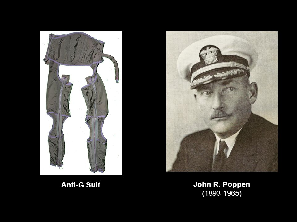 John R. Poppen (1893-1965) Anti-G Suit