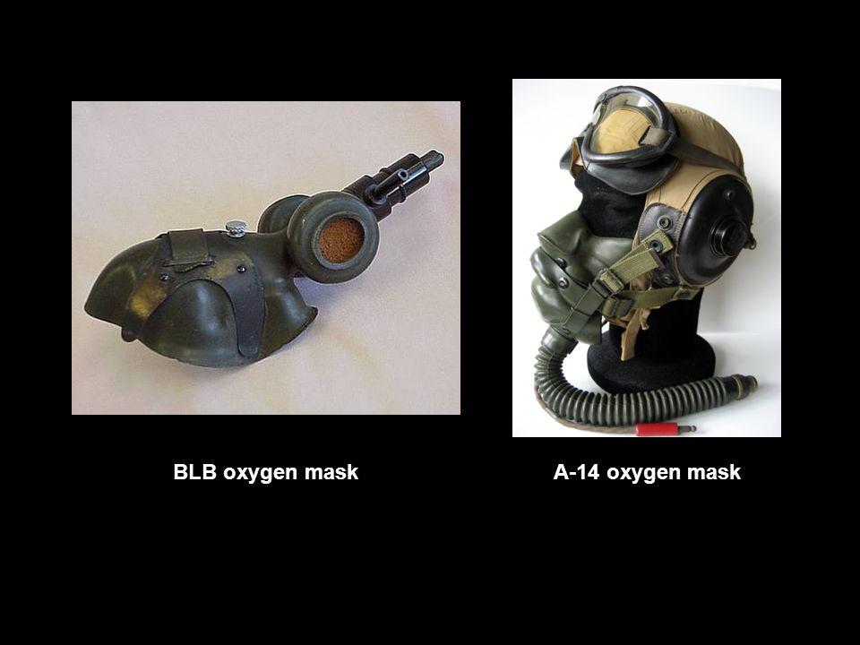BLB oxygen maskA-14 oxygen mask