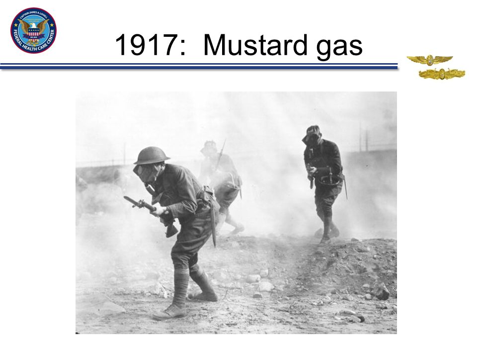 1917: Mustard gas