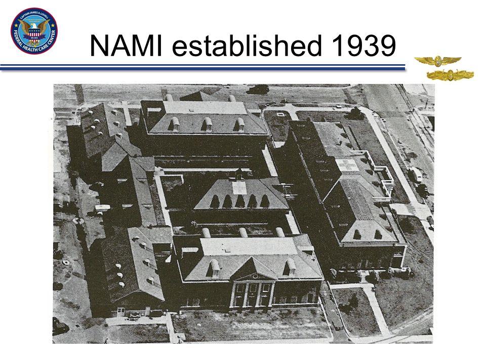 NAMI established 1939