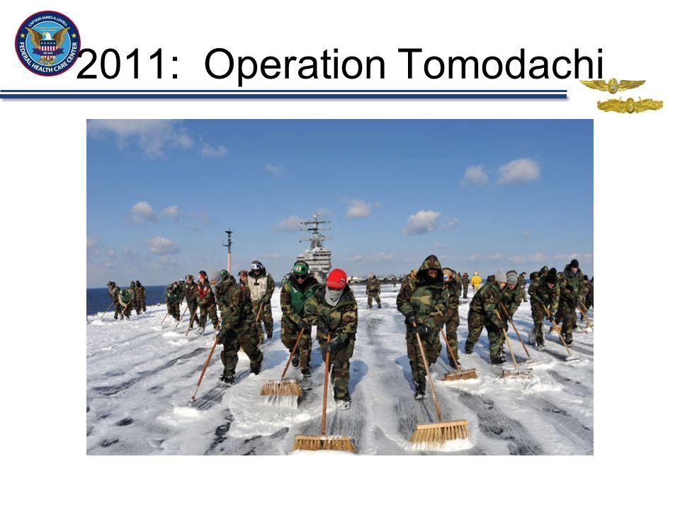 2011: Operation Tomodachi