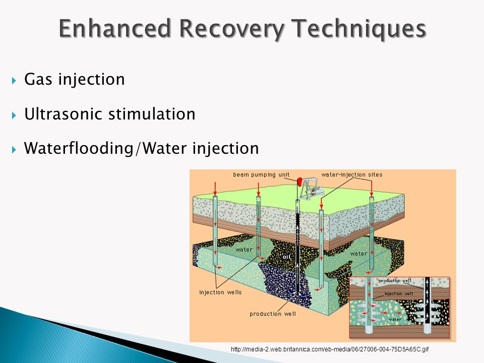 More Reservoir Nanotechnology Improve oil and gas production Produce lighter and stronger equipment Reduce pollution of processing Increase types of smart fluids –advanced drag reduction –wettability alteration –anticorrosive coatings –magnetic properties Introduce new sensors –temperature and pressure ratings –fluid-flow monitoring and recognition http://webdocs.cs.ualberta.ca/~database/MEMS/sma_mems/img/goop.gif http://c0378172.cdn.cloudfiles.rackspacecloud.com/lab_on_a_chip.jpg