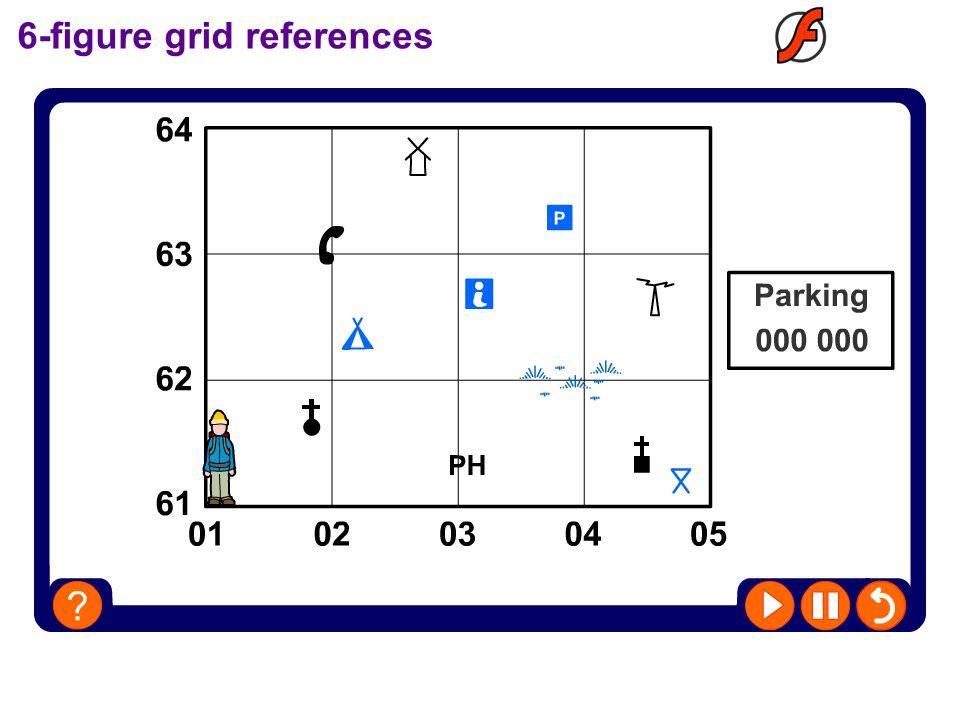 6-figure grid references