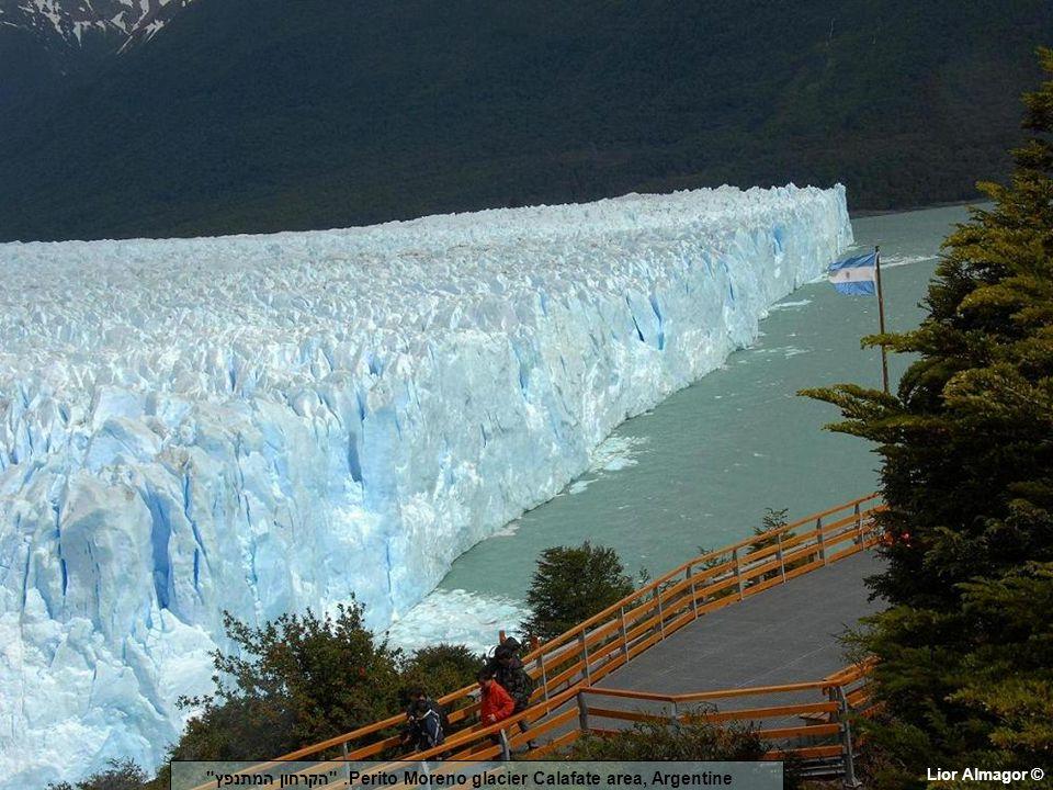 Lior Almagor © Perito Moreno glacier Calafate area, Argentine. הקרחון המתנפץ