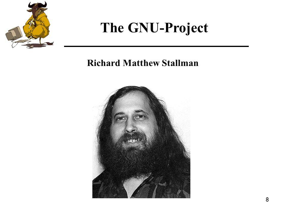 39 The GNU-Project Costcomparison — 245 x Standard Workstations — 3 x Developer Workstations — 2 x Graphics/Design Workstations — 1 x Mail Server — 5 x File/Print Server — 1 x Proxy/Firewall Server — 1 x Intranet & SQL Server — 1 x E-Business Server (incl.
