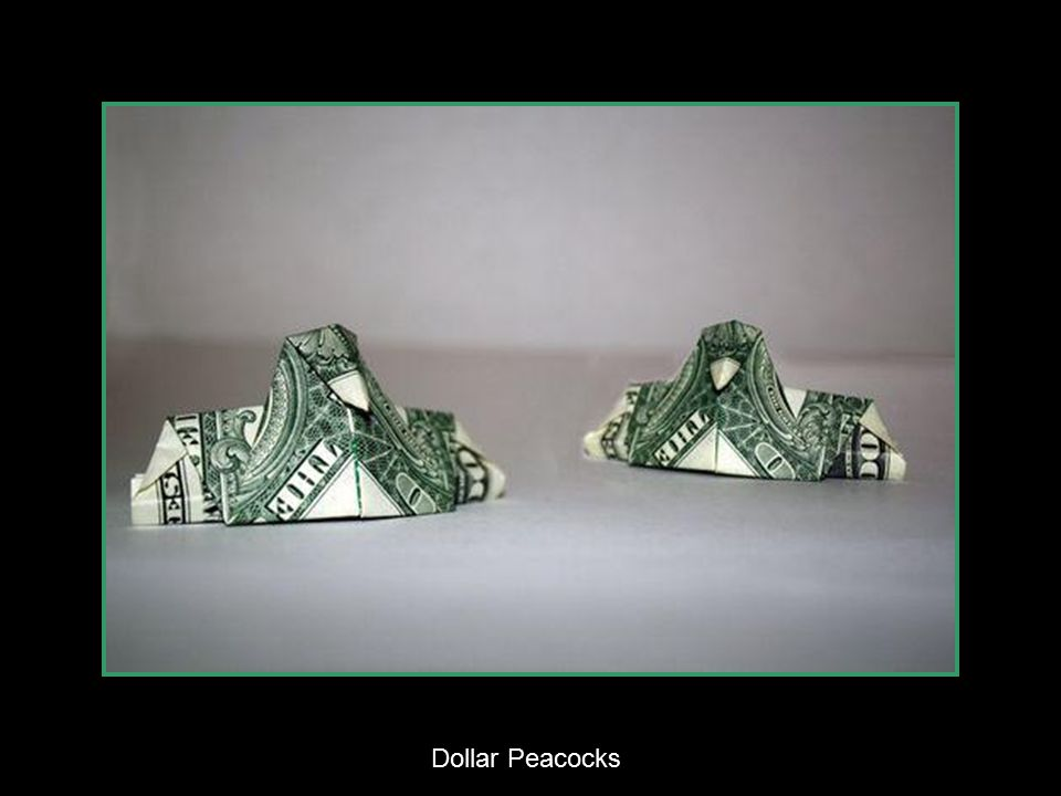 One Dollar Double Cranes