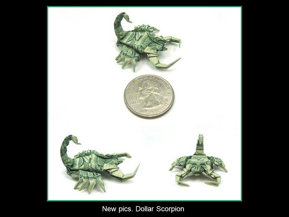 Dollar Origami Zeppelin