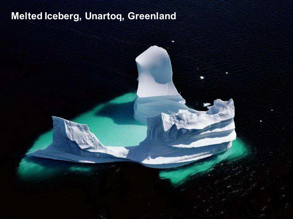 Melted Iceberg, Unartoq, Greenland