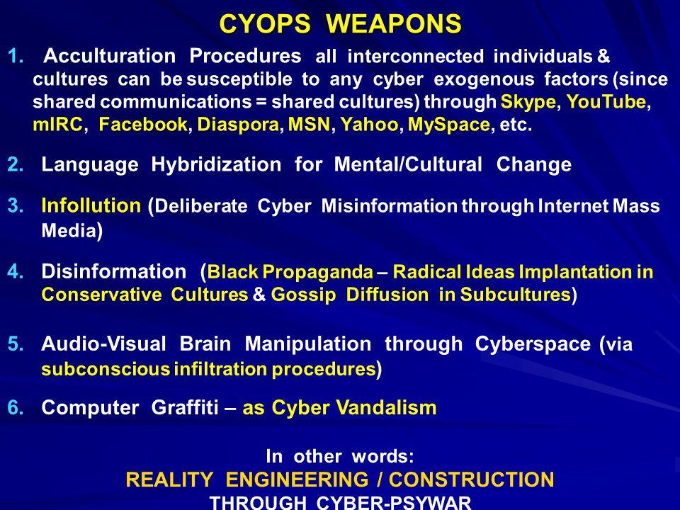 CYOPS WEAPONS