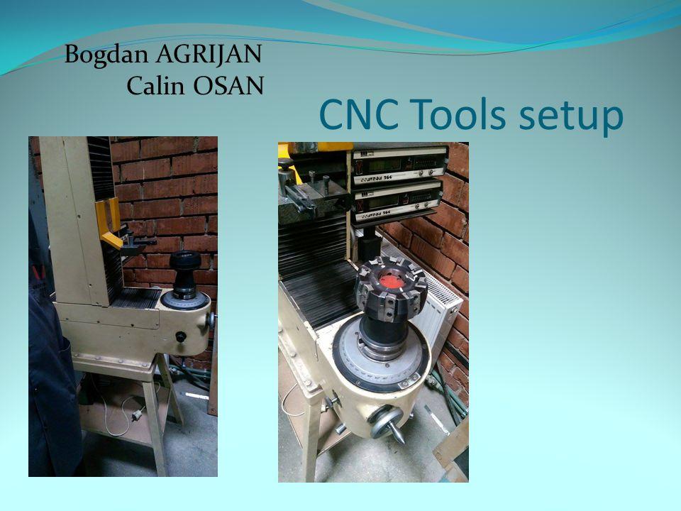 CNC Tools setup Bogdan AGRIJAN Calin OSAN