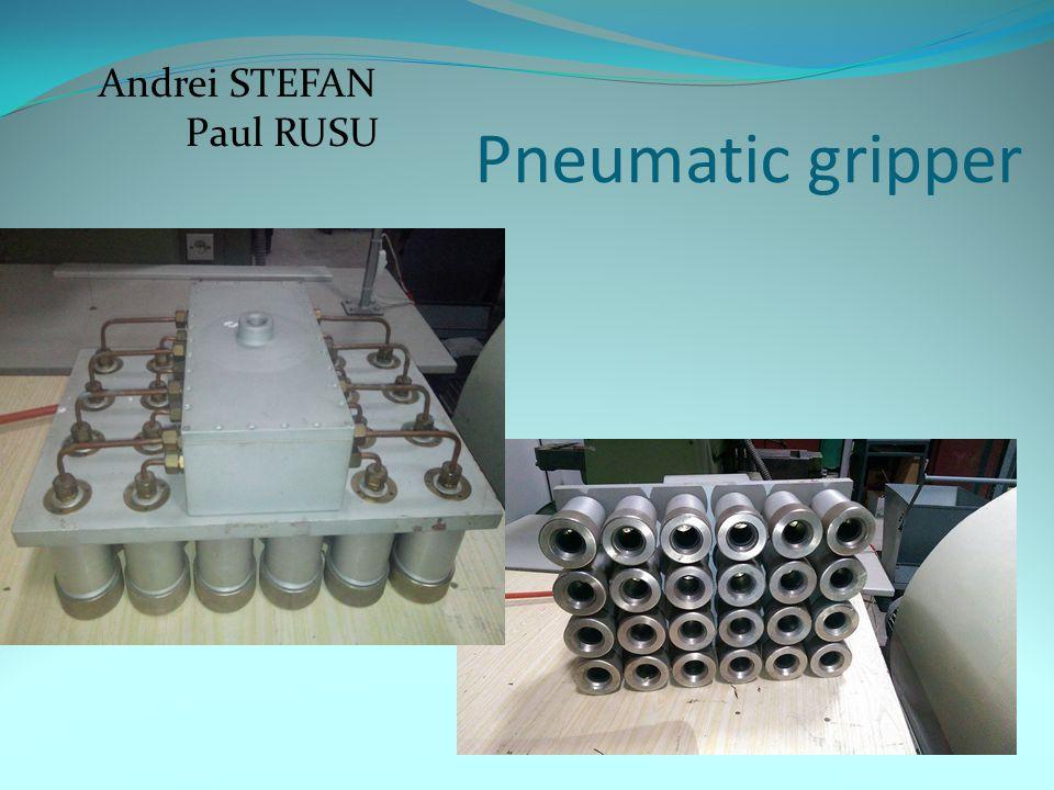 Pneumatic gripper Andrei STEFAN Paul RUSU