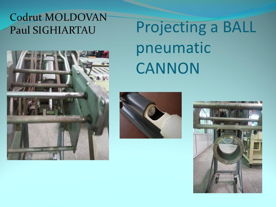 Projecting a BALL pneumatic CANNON Codrut MOLDOVAN Paul SIGHIARTAU