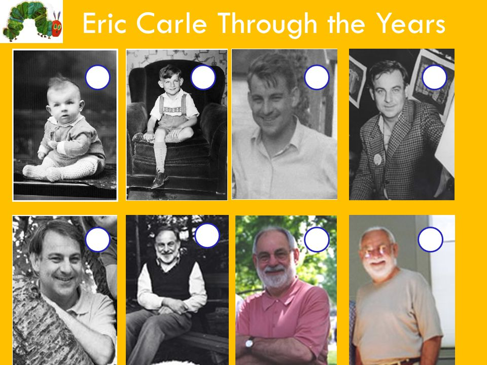 Eric Carle Through the Years