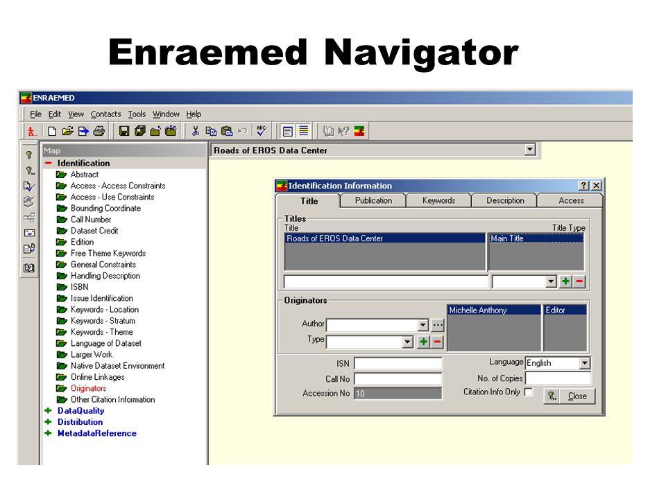 Enraemed Navigator