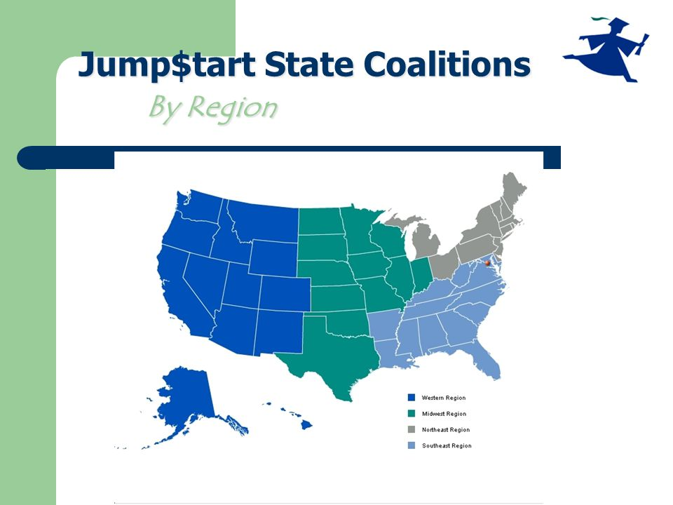 Jump$tart State Coalitions By Region