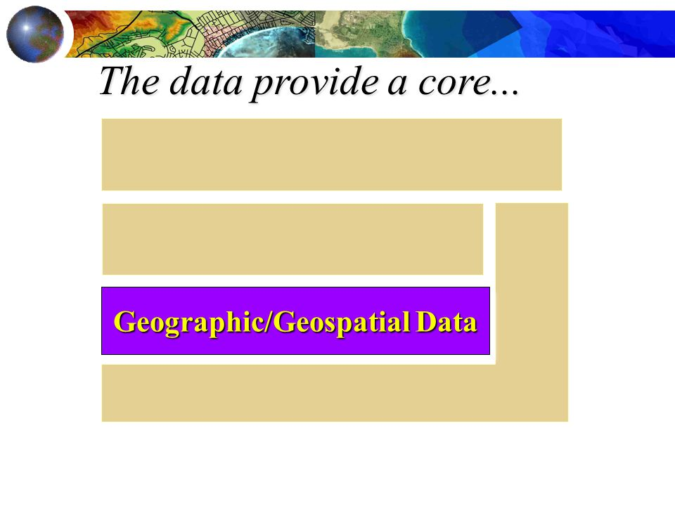 The data provide a core... Geographic/Geospatial Data