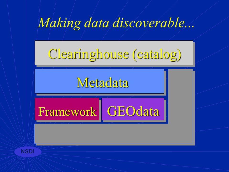 NSDI Training for metadata FGDC and Plangraphics, Inc.