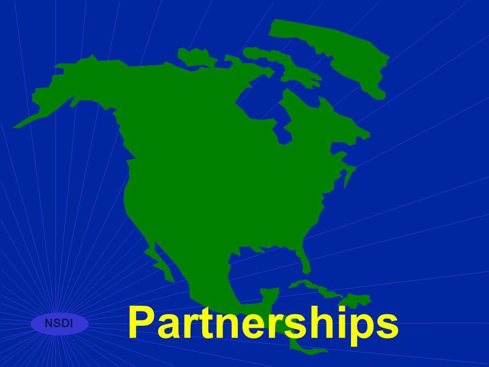 NSDI Standards under development n Base Cartographic n Cultural and Demographic Metadata n Geodetic Control Networks n Transportation Network Profile n RiverReach File Version 3.0 n Earth Cover Classification n Geologic n Facilities
