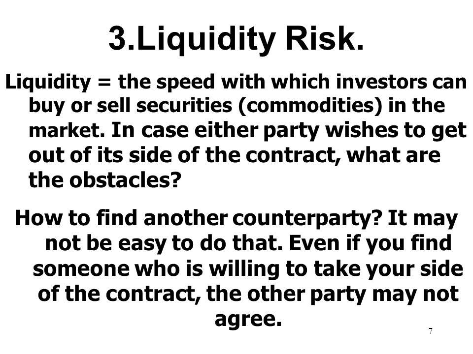 7 3.Liquidity Risk.