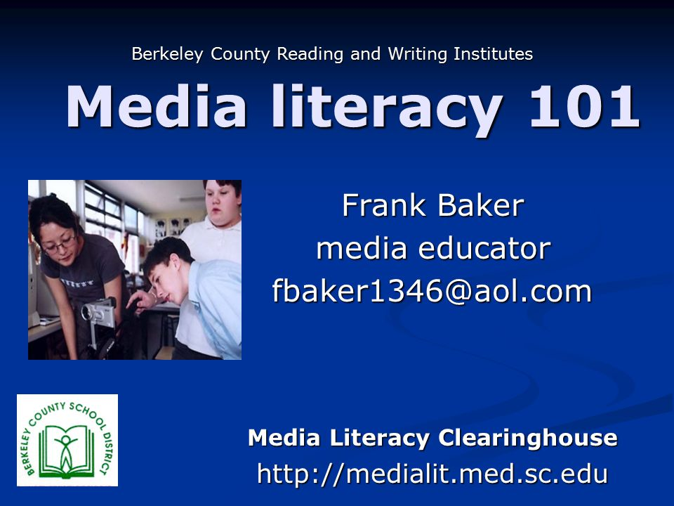 Media literacy 101 It would be a breach of our duties as teachers for us to ignore the rhetorical power of visual forms of media in combination with text and sound…the critical media literacy we need to teach must include evaluation of these media, lest our students fail to see, understand, and learn to harness the persuasive power of visual media. NCTE Resolution on Visual/Media Literacy It would be a breach of our duties as teachers for us to ignore the rhetorical power of visual forms of media in combination with text and sound…the critical media literacy we need to teach must include evaluation of these media, lest our students fail to see, understand, and learn to harness the persuasive power of visual media. NCTE Resolution on Visual/Media Literacy
