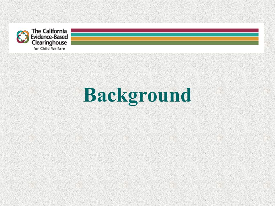 The California Evidence-Based Clearinghouse for Child Welfare (CEBC) In 2004, the California Department of Social Services, Office of Child Abuse Prevention contracted with the Chadwick Center for Children and Families, Rady Children's Hospital-San Diego in cooperation with the Child and Adolescent Services Research Center to create the CEBC.