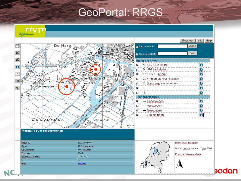 GeoPortal: RRGS