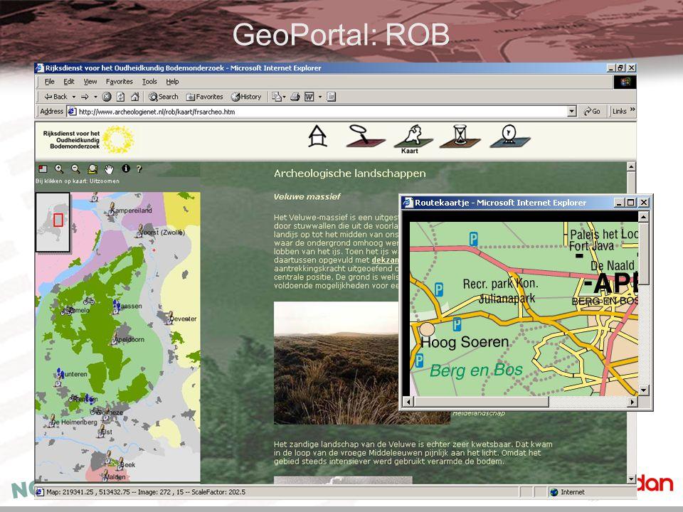 GeoPortal: ROB