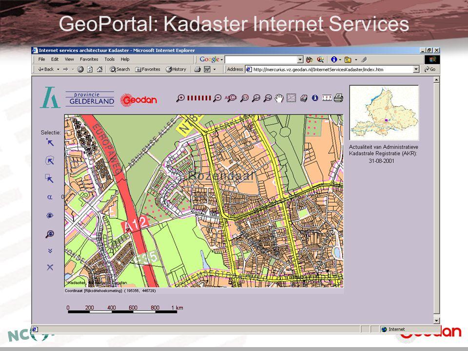 GeoPortal: Kadaster Internet Services