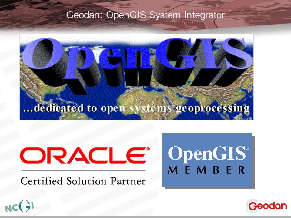 Geodan: OpenGIS System Integrator