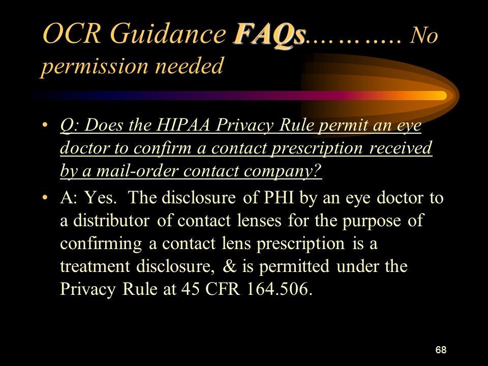 68 FAQs OCR Guidance FAQs....……..