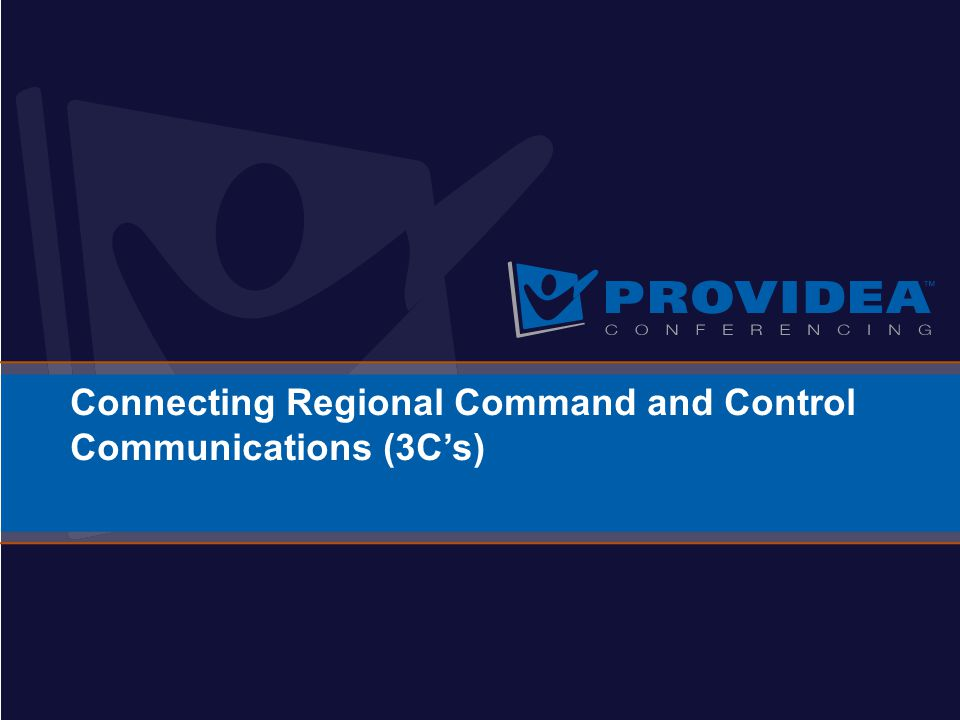 Connecting Regional Command and Control Communications (3C's)