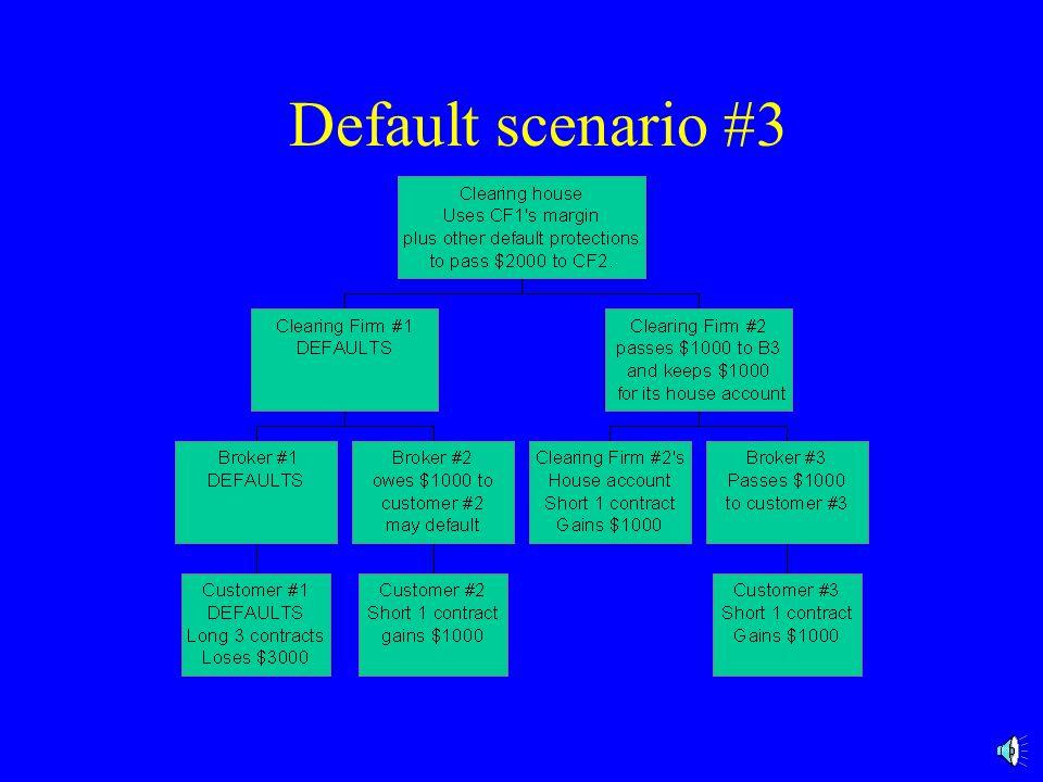 Default scenario #3