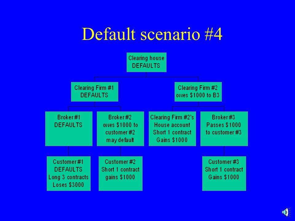 Default scenario #4