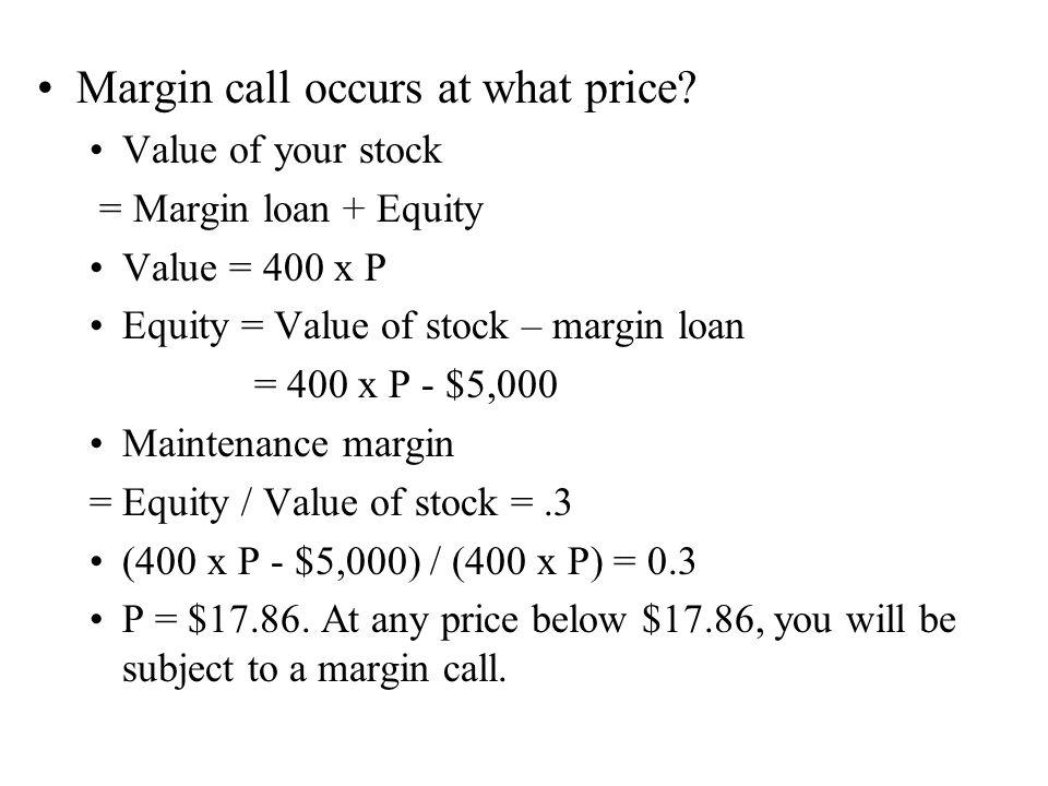 Margin account (Futures) Bob buys one futures contract of corn at $2/bushel (1 contract =5,000 bushels).