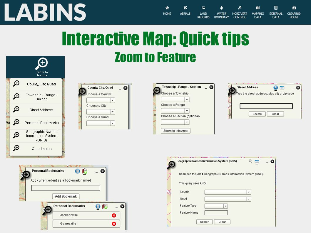 Interactive Map: Quick tips Zoom to Feature