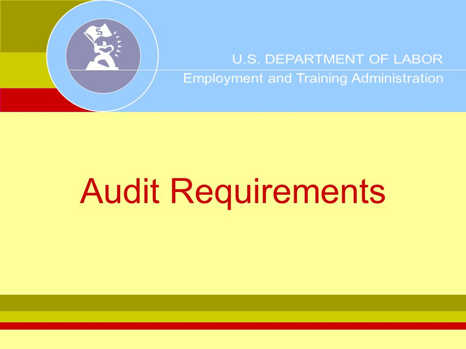 Objectives Purpose & applicability Responsibilities of auditee & DOL Components of a single audit WIA considerations Testing for compliance Exercise & review questions
