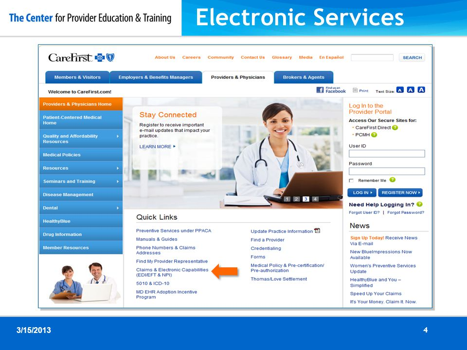 Electronic Services 4 3/15/2013