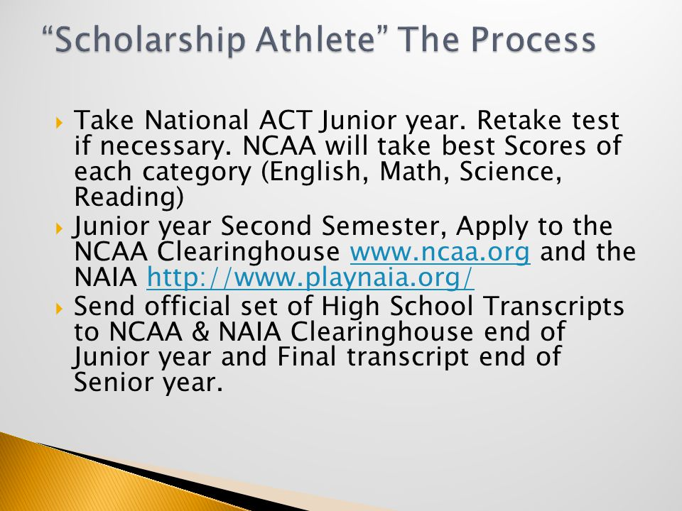  You will be a non-qualifier if you do not meet the academic requirements.