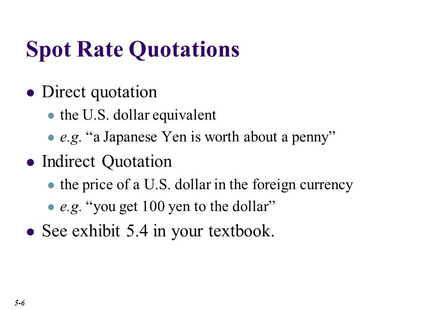 .5072 1 9717.1 = Spot Rate Quotations Currencies January 4, 2008 U.S.-dollar foreign-exchange rates in late New York trading.