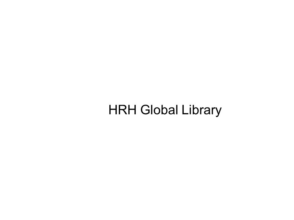 HRH Global Library