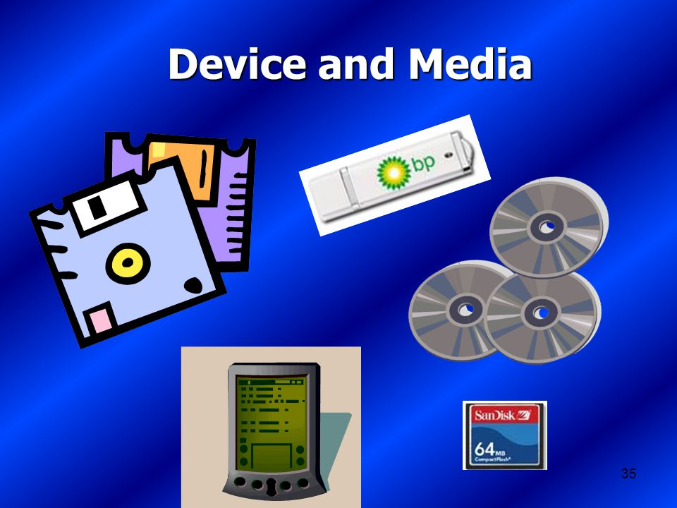 35 Device and Media