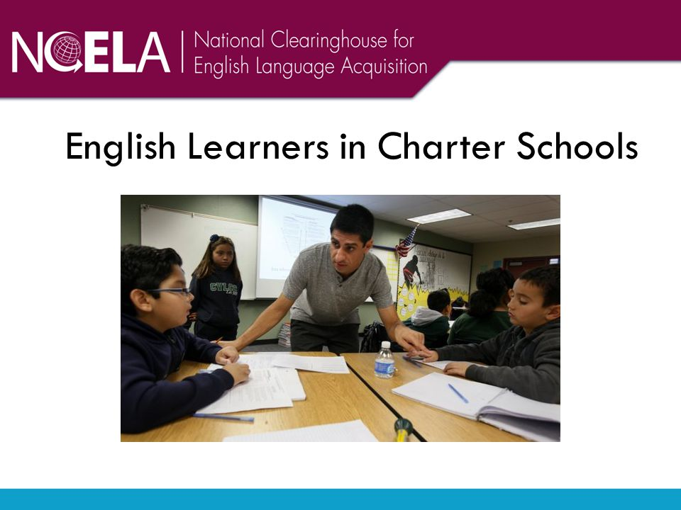 English Learners in Charter Schools subtitle